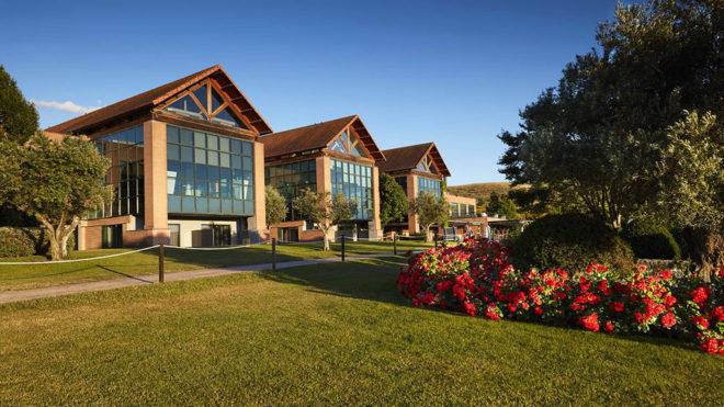 Las instalaciones del Club de Golf Retamares.