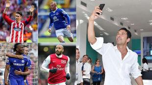 Torres, Rooney, Drogba, Henry y Buffon.