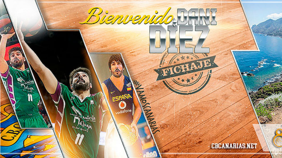 El Iberostar Tenerife daba la bienvenida así a Dani Díez en su web...