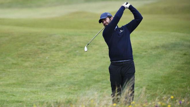 Jorge Campillo, en la segunda jornada del Open de Irlanda.