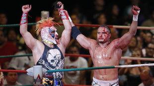 Psycho Clown y El Texano Jr harán mancuerna.