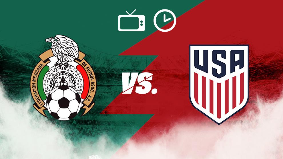 México vs Estados Unidos, hora y dónde ver