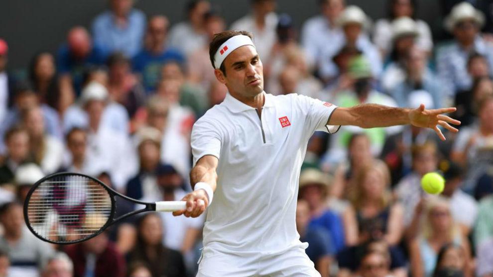 Federer alcanzó las 350 victorias en Grand Slam con triunfo sobre Pouille