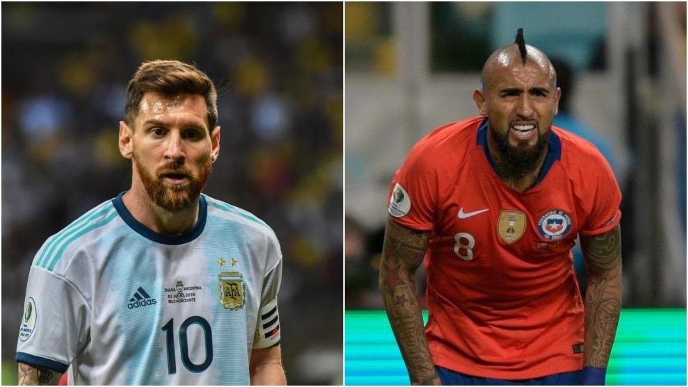 Resultado de imagen para copa america brasil 2019 argentina 2 chile 1