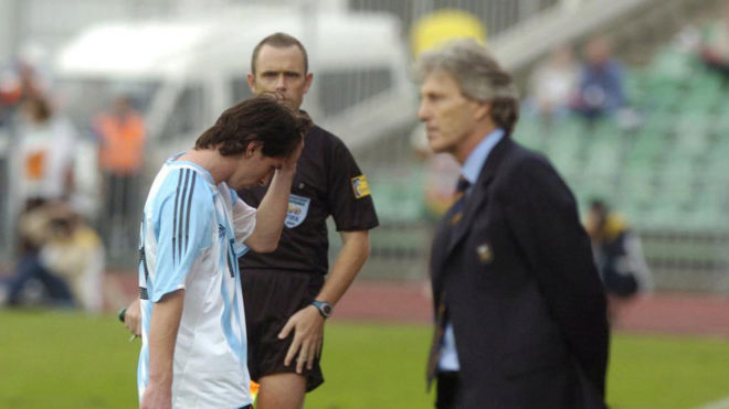 Messi S Red Card Was His First Since 2005 Marca In English