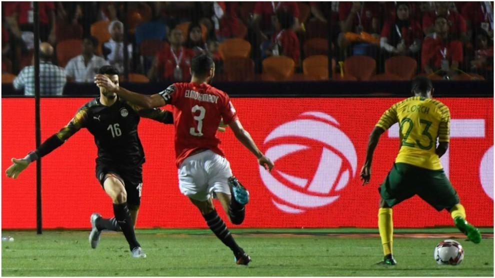 Lorch marca el 0-1 que mete a Sudáfrica en cuartos y elimina a la...