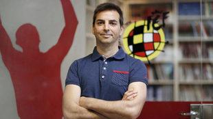 Francis Hernández, director técnico de la RFEF