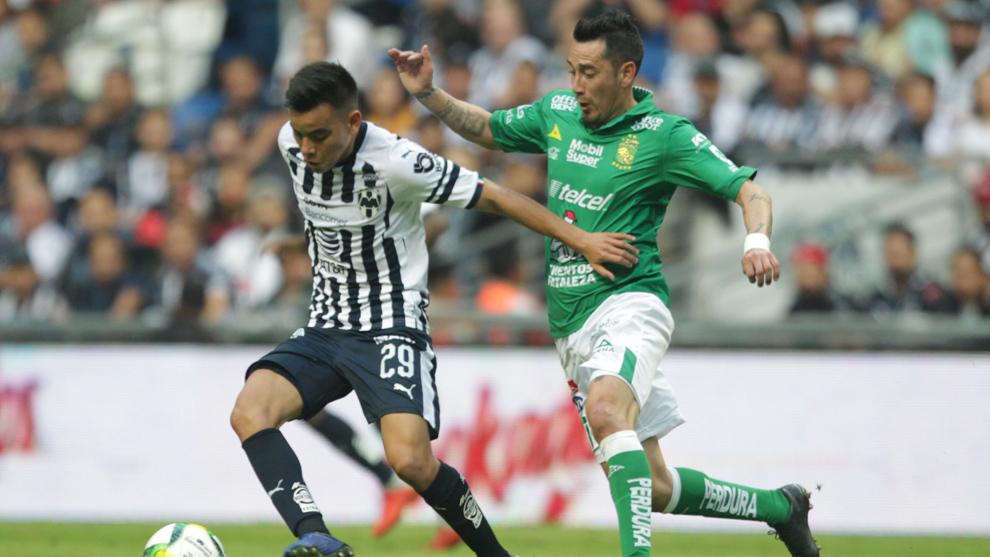 Monterrey vs León en partido dentro del Clausura 2019