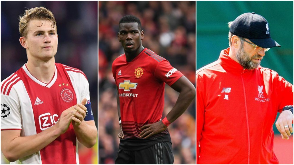 Sunday S Transfer Round Up De Ligt S Call Man Utd S Pogba Fear