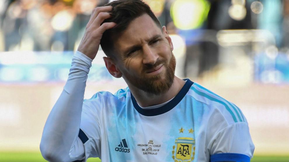 Messi (32), en esta Copa América.