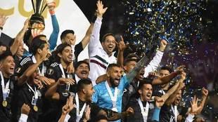 Así festejó México su onceava Copa Oro.