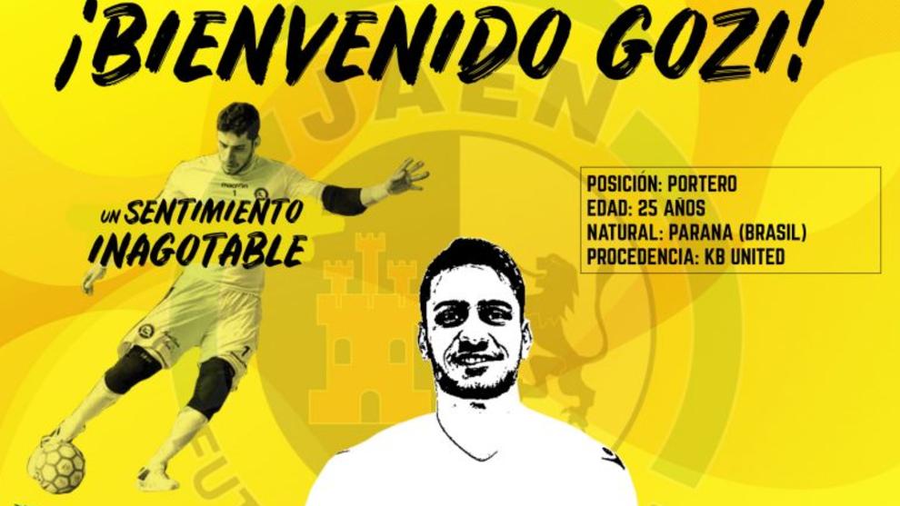 El Jaén anuncia el fichaje de Roberto Gozi