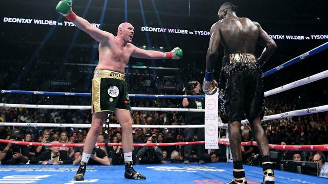 Primer enfrentamiento entre Wilder y Fury (