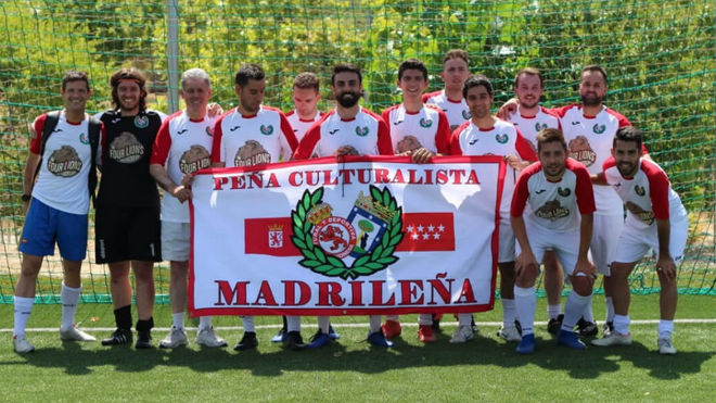 Peña Culturalista Madrileña en la Copa Confederapeñas