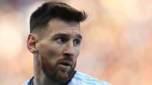 Messi, en medio de la polémica.