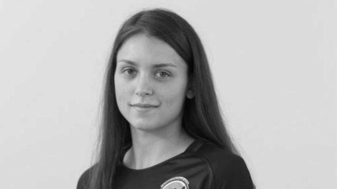 Ekaterina Koroleva, jugadora internacional rusa de balonmano playa /