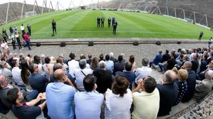 La UD Las Palmas estrena instalaciones deportivas enBaranco Seco.