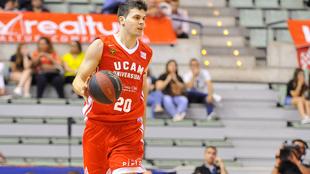Deja Todorovic en su etapa en Murcia