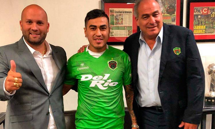 Darío Lezcano firma con los Bravos de Juárez