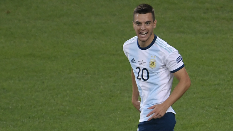 Lo Celso, con Argentina
