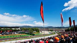 GP de España, en Montmeló.