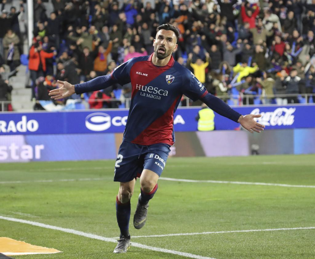 Enric Gallego, en su etapa como jugador del Huesca