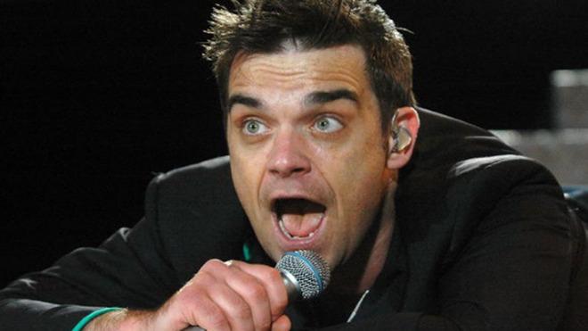Robbie Williams contrató seguridad 24 horas por miedo a los...