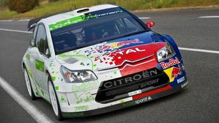 Citroën prueba en pista el C4 Hybrid4 WRC.