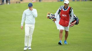Rory McIlroy, durante el US Open, en Pebble Beach.