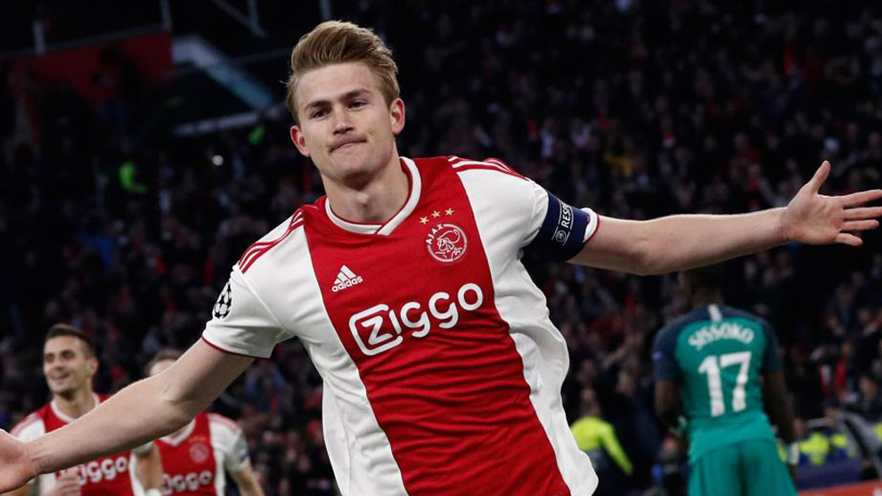 Ajax leave out De Ligt as 'possible transfer' looms