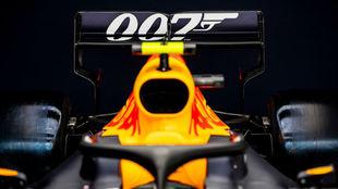 El alerón del RB15 lucirá el Silverstone el logo de 007.