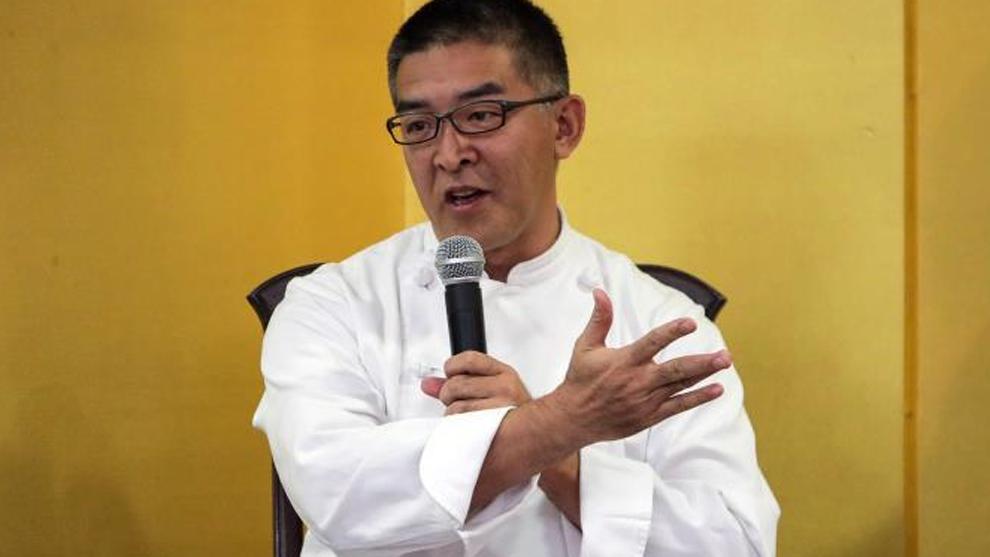 El chef japonés Takehiro Ohno
