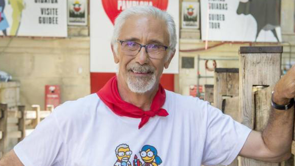 Javier Solano, presentador de San Fermín 2019 en TVE