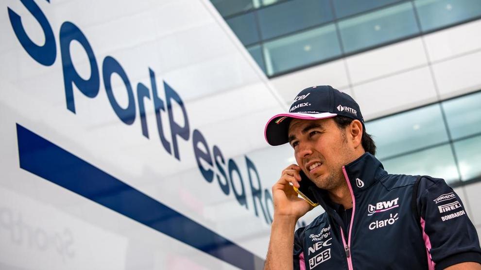 Sergio Pérez, en Racing Point.