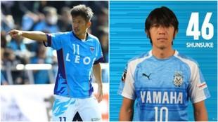 Kazu Miura y Shunsuke Makamura forman el ataque más veterano del...