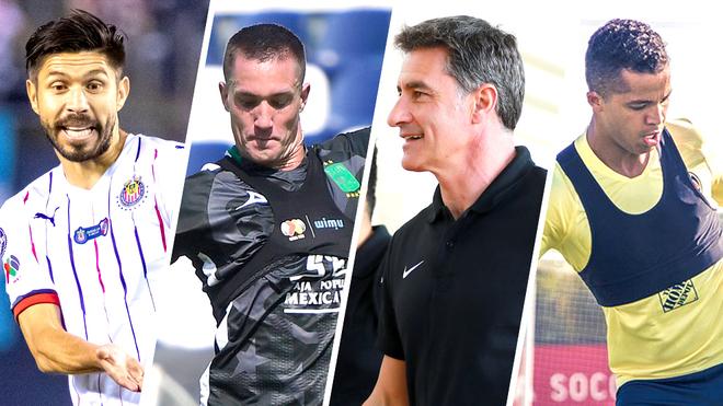 Oribe, Dos Santos, Ramos y Michel son los hombres a seguir en el...