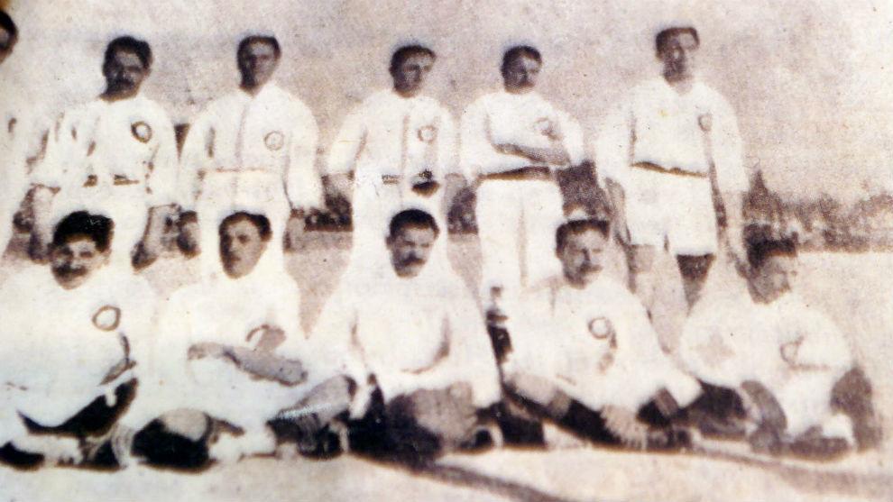 El Real Madrid de 1906.