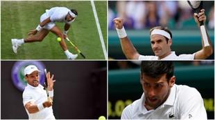 Los cuatro protagonistas de las semifinales