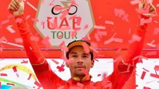 Primoz Roglic, durante el UAE Tour en marzo de 2019
