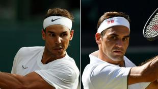 Rafa Nadal - Roger Federer: en directo, las semifinales