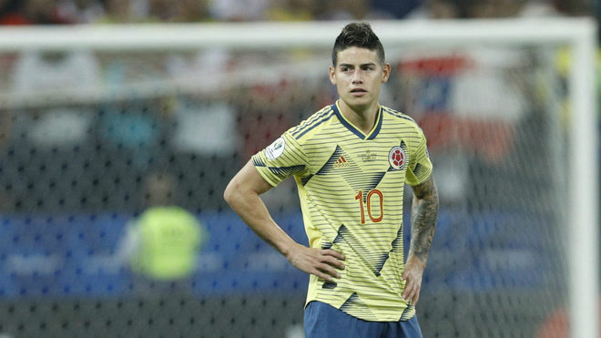 Real Madrid's James eyes Atletico move