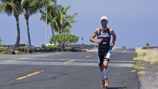 Eneko Llanos en el Ironman de Hawaii.
