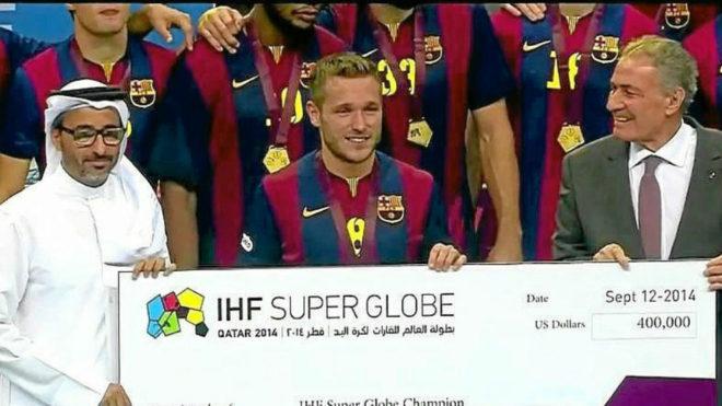 El Barcelona, campeón de la SuperGlobe en 2018 /