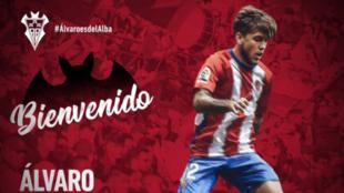 El Albacete anuncia a Álvaro Jiménez
