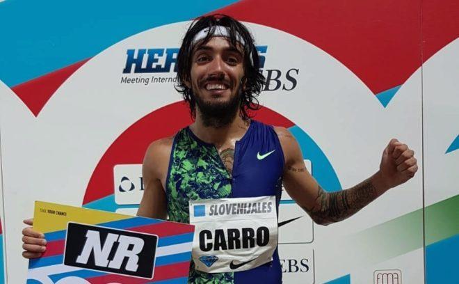 Diamond League Mónaco: ¡Brutal Fernando Carro! Nuevo