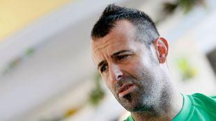 Toni Doblas, exportero del Betis