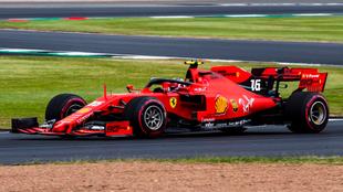 Leclerc en Silverstone.
