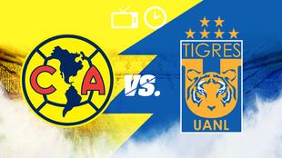 América y Tigres buscan un nuevo título para sus vitrinas.