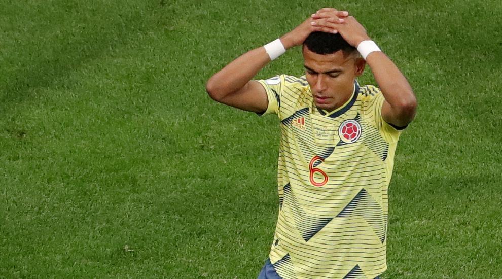 El colombiano rompió el silencio luego de la situación.