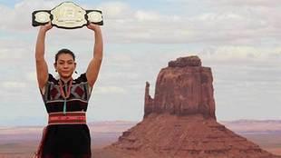 Nicco Montaño, luchadora de Artes Marciales Mixtas (MMA), es la...